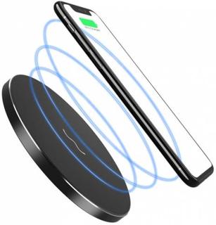 DeLOCK Qi oplader til iPhone i sort, alu og tynd op til 10W