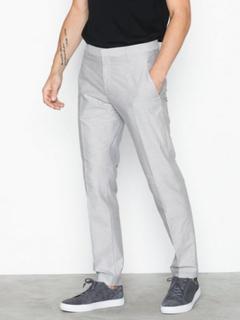 Whyred Earl Oxford Bukser Grey