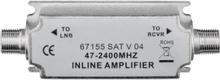 SAT/BK-Inline amplifier 47 MHz - 2400 MHz