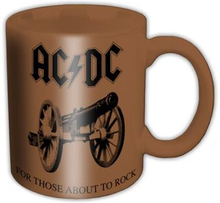AC/DC: Boxed Standard Mug/For those about to rock