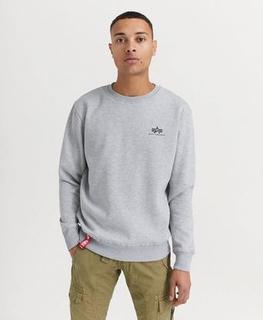 Alpha Industries SWEATSHIRT Basic Sweater Small Logo Grå