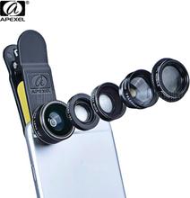 APEXEL APL - DG5 5 in 1 Camera Phone Lens Kit