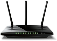 TP-LINK AC1750 Trådlös Dual Band Gigabit router, 802.11ac/n/a, svart