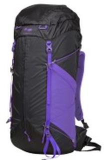 Bergans Helium W 55L Tursekk, Charcoal/funky purple
