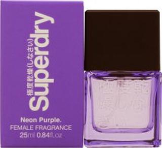 Superdry Neon Purple Eau de Cologne 25ml Sprej