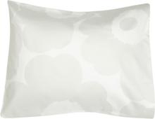 Unikko tyynyliina Harmaa-valkoinen