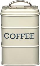 Living Nostalgia Kaffeburk gräddvit plåt