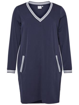 JUNAROSE Woven Dress Women Blue