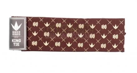 Bunker Kings King Tie - Crown Pattern