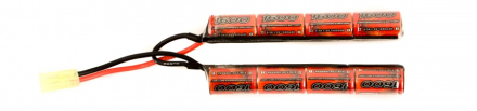 Batteri - 9.6V 1600mAh Cranestock - Liten Plugg - NiMH