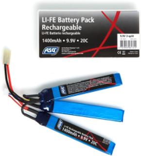 Batteri - Li-Fe 9.9V 1400 - Sticks