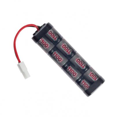Batteri 9.6V 1100mAh Mini, Liten plugg
