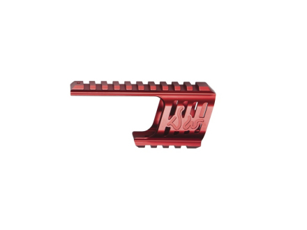 Custom CNC Railmontasje til Dan Wesson 715 - Rød