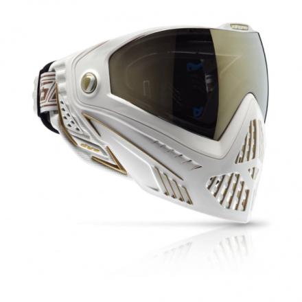Dye i5 Maske - White/Gold