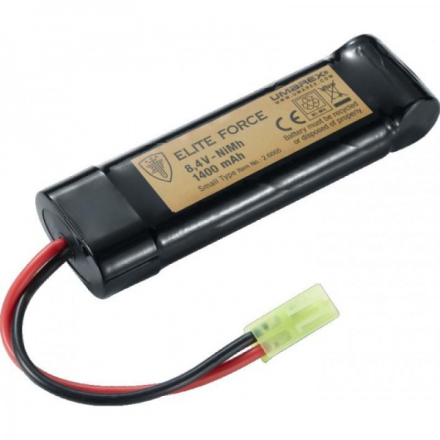 Elite Force Batteri - 8.4V 1400mah - Mini