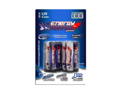 Energy Paintball - AA Batteri - 4pk
