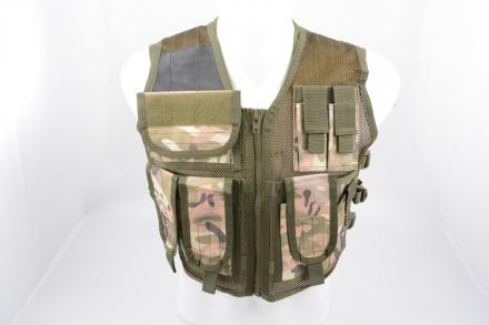 Go! Taktisk Recon Vest - Multicam