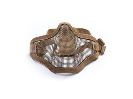 Mesh Maske med Gitter - Tan