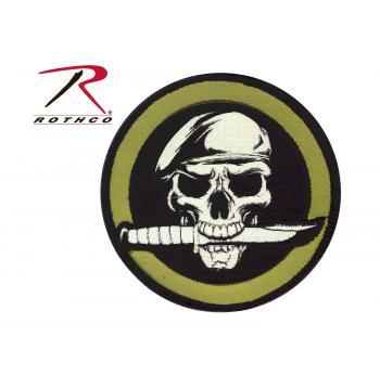 Military Skull & Knife Merke