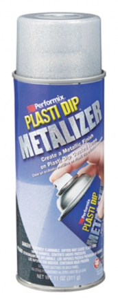 Plasti Dip Bright Aluminium Metalizer - Topcoating