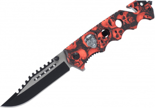 Red Skull Tactical Rescue Knife