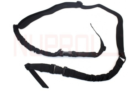 Two Point Bungee Sling - 1000D Cordura - Black