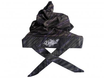 Virtue Headwrap - Graphic Purple