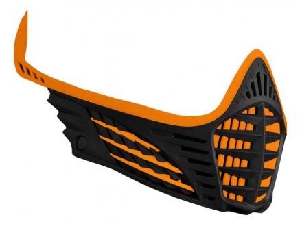 Virtue VIO Facemask - Orange/Orange/Black