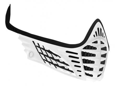Virtue VIO Facemask - White/White/Black