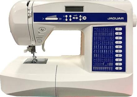 Jaguar 596 symaskin (Quilting Edition + stor tilbehør Bundle)