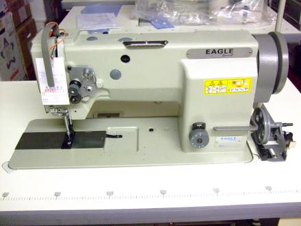 Eagle GC20606-1 gå foten Drop-in Bobbin Industrial Sewing Machine f...
