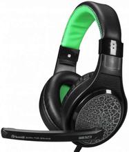 Scorpion H8323 Gaming headset sort og grøn med mic