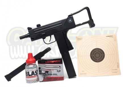 Cobray Ingram M11 Luftpistol - 4.5mm BB - SETT