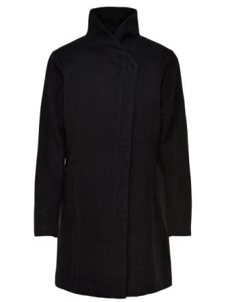 ONLY Wool Coat Women Black