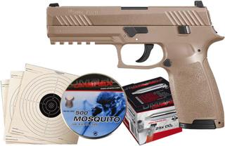 Sig Sauer P320 Luftpistol Pakkesett med alt du trenger!