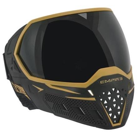 Empire EVS Maske - Black/Gold