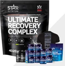 Ultimate Recovery Complex 4 kg + Bonus Product!, Strawberry