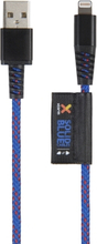 Xtorm Xtorm Solid Blue Lightning USB, 1m Kevlar 8718182273571 Replace: N/AXtorm Xtorm Solid Blue Lightning USB, 1m Kevlar