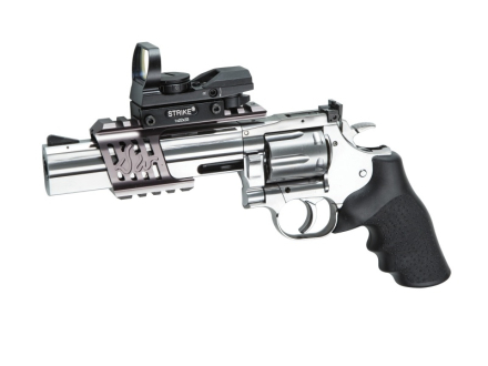 Dan Wesson 715 Revolver - Sølv - 4.5mm BB