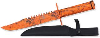 Snake Eye - Survival Kniv - Orange Camo