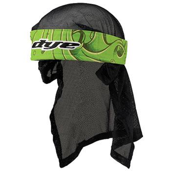Dye Headwrap - Slime Green