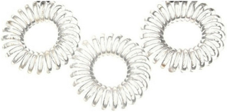 Pieces Spiral Rubber Bands Clear 10 Pieces