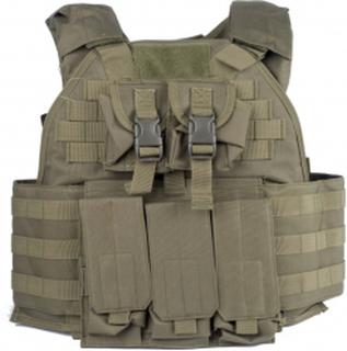 GFT - Plate Carrier MOLLE Vest - Olive