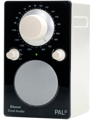 Tivoli Audio PAL BT Bluetooth Glossy Black