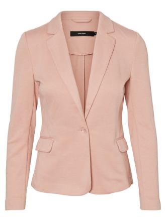 VERO MODA Jersey Blazer Women Pink