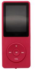 MP3-Afspiller med 8 GB Hukommelse - Rød