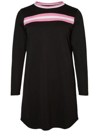 JUNAROSE Long Sleeved Dress Women Black
