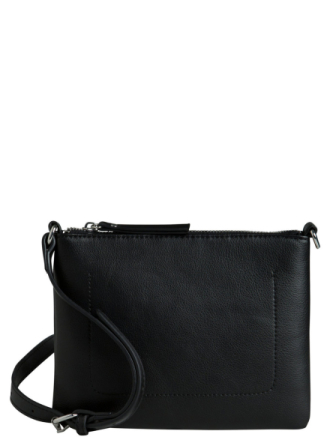 PIECES Squared Crossbody Bag Women Black