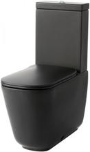 Lavabo Tribeca golvstående toalett, back-to-wall design, matt svart