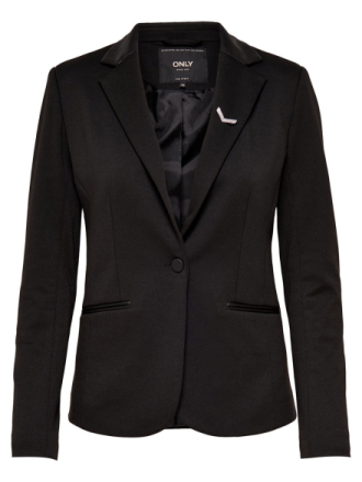 ONLY Solid Blazer Women Black